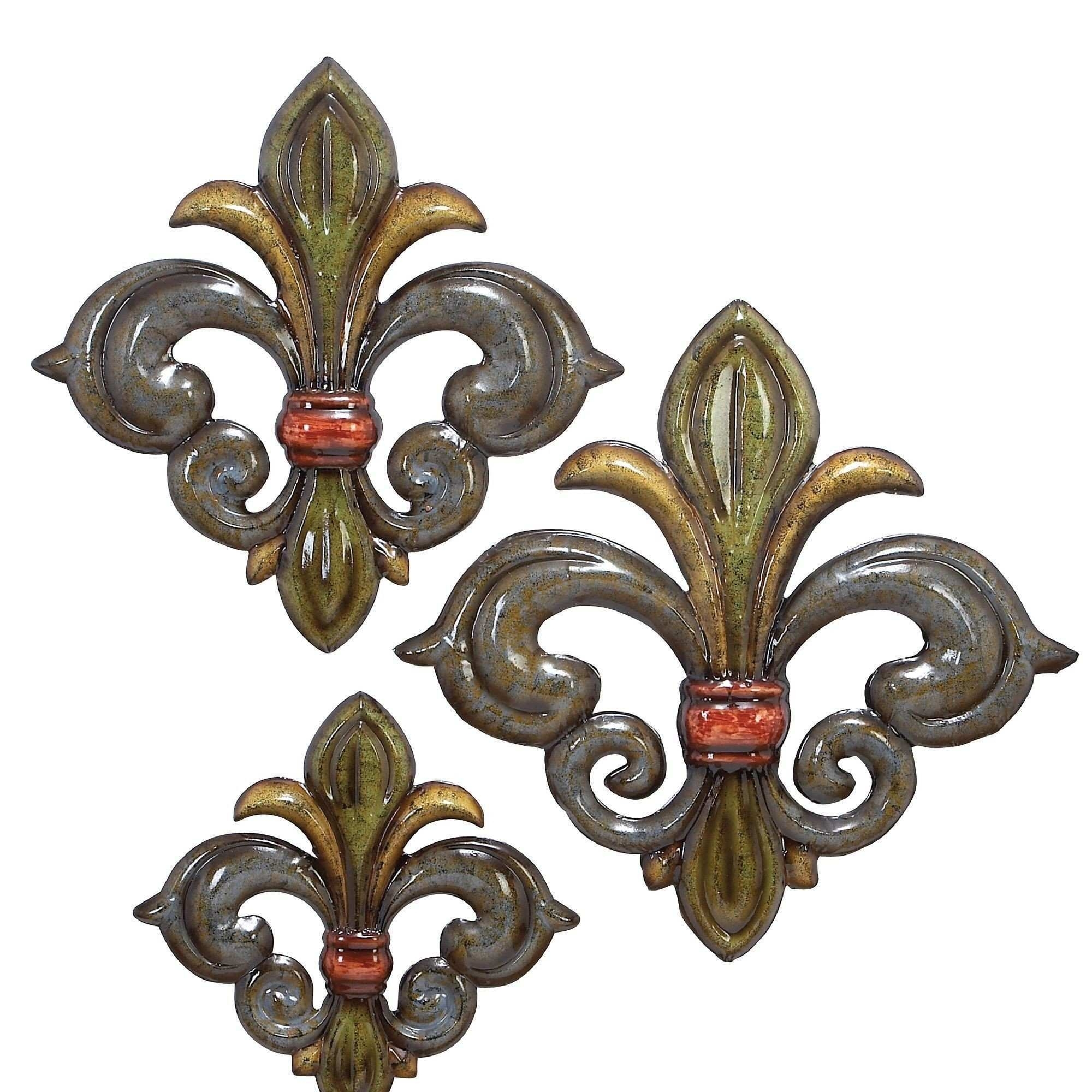 Awesome Large Fleur De Lis Wall Decor | Wall Art Ideas for Fleur De Lis Wall Art (Image 3 of 20)