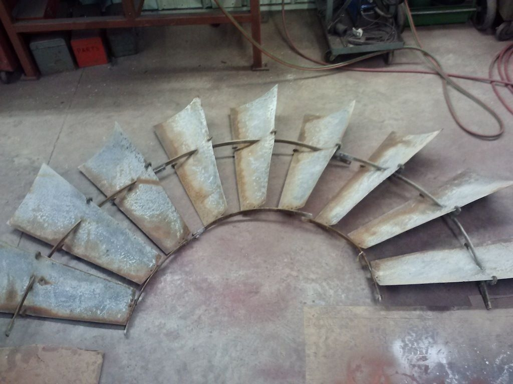 Awesome Old Windmill Wheels For Wall Art Paul U Crane Service Pict Intended For Windmill Wall Art (View 13 of 20)