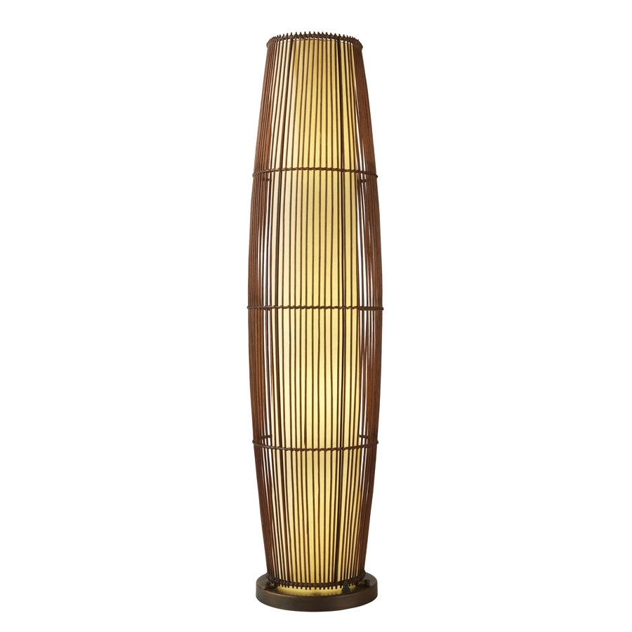 Bamboo Floor New: Outdoor Bamboo Floor Lamp With Outdoor Bamboo Lanterns (View 5 of 20)
