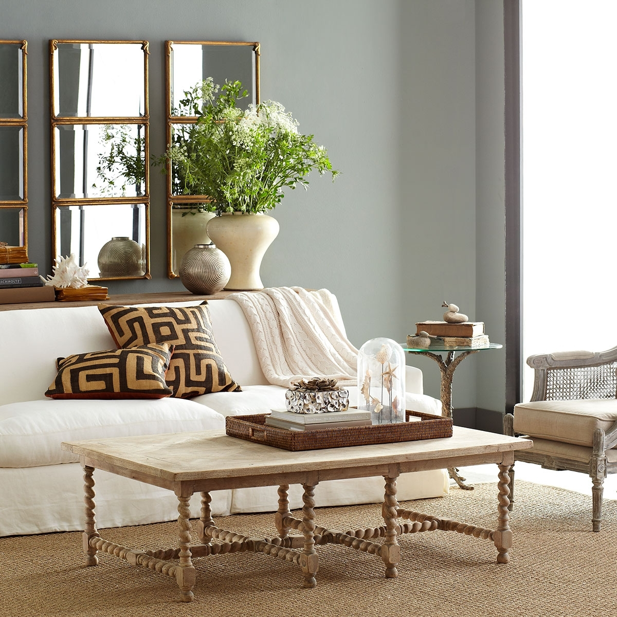 Barley Twist Coffee Table | Wisteria for Barley Twist Coffee Tables (Image 10 of 30)