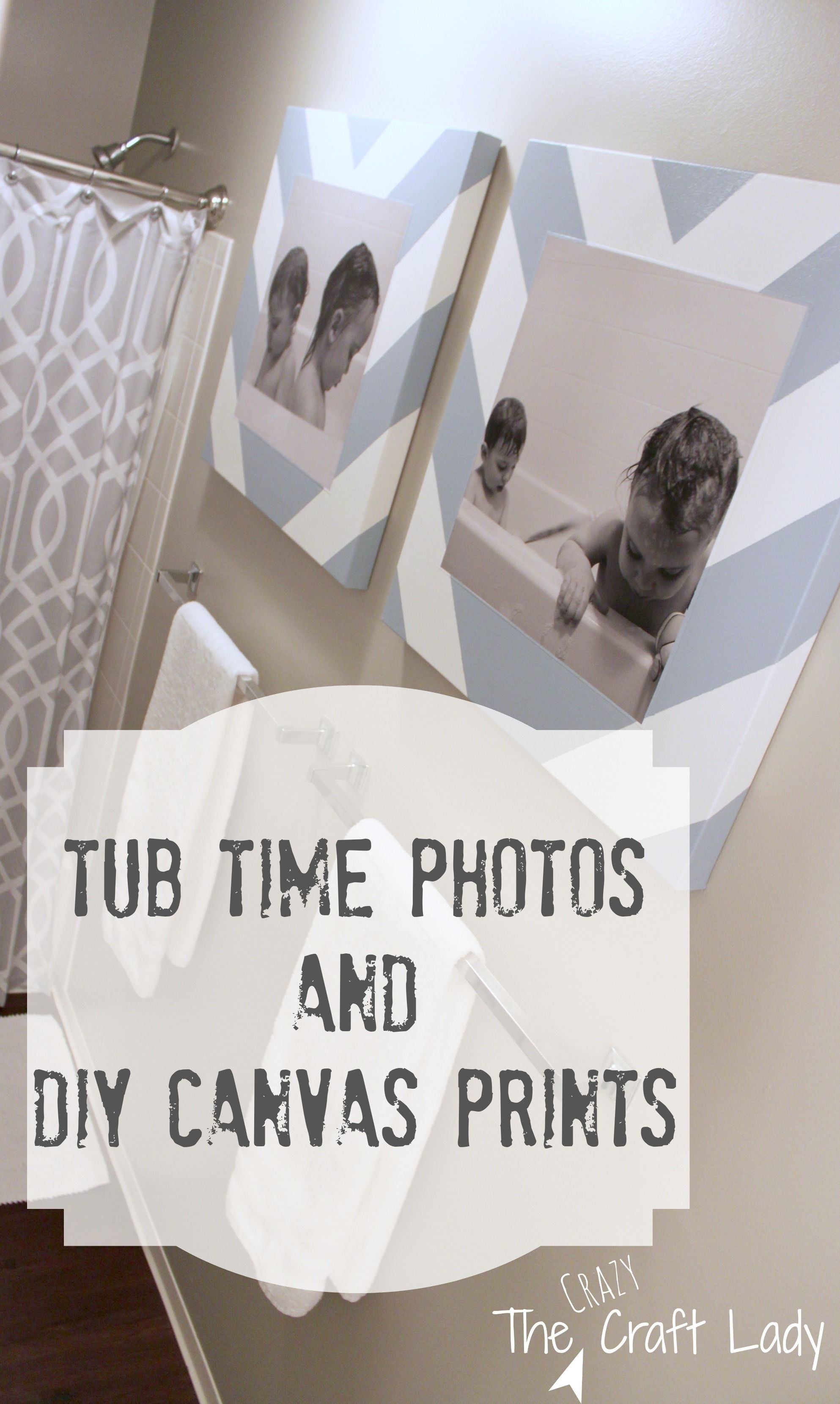 Bath Time Photos And Diy Canvas Prints | Diy Canvas, Time Photo And Bath throughout Bathroom Canvas Wall Art (Image 3 of 20)