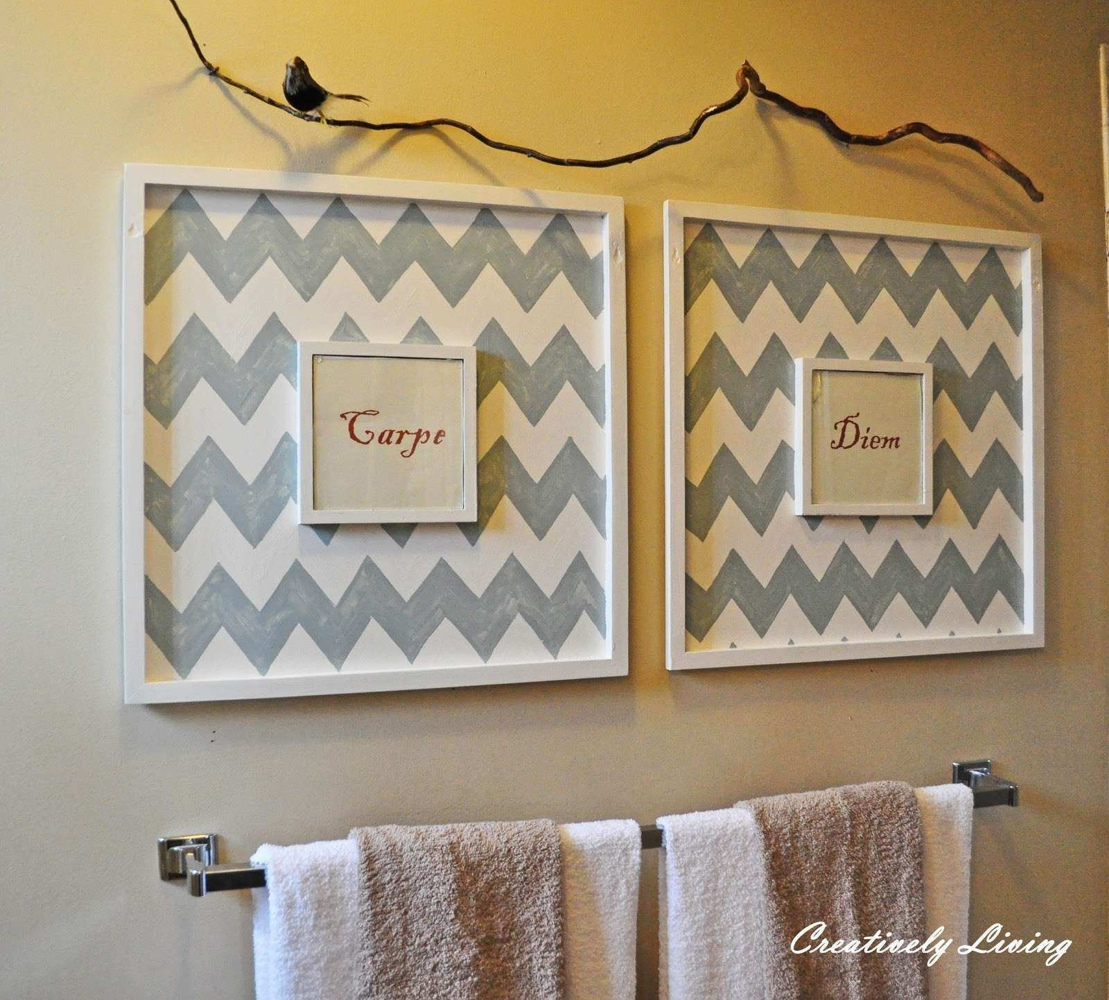 Bathroom Canvas Wall Art Awesome Bathroom Wall Art Creatively Living for Bathroom Canvas Wall Art (Image 4 of 20)