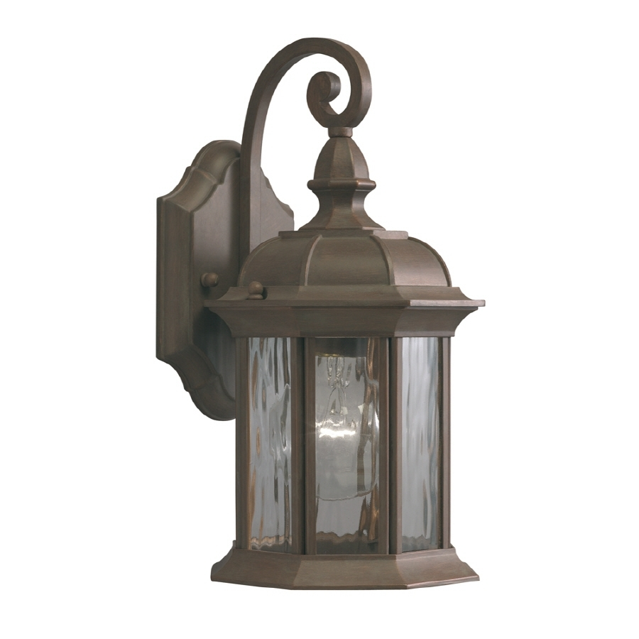 Bathroom Lighting Black Outdoor Light Fixtures Lowes Led Outdoor intended for Outdoor Lanterns and Sconces (Image 2 of 20)