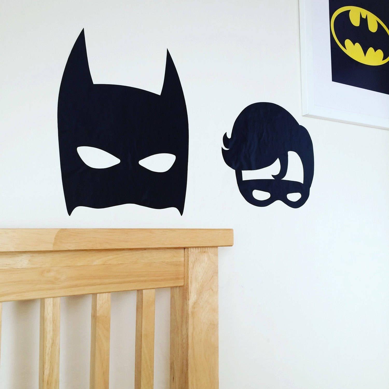 Batman Inspired~batman And Robin Inspired~superhero Decor~wall Intended For Batman Wall Art (View 17 of 20)