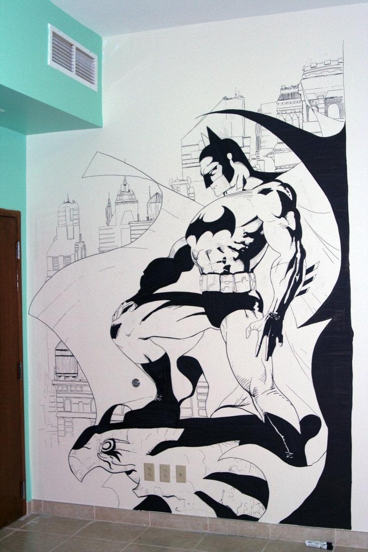 Batman Wall Artzabbah On Deviantart Regarding Batman Wall Art (View 6 of 20)