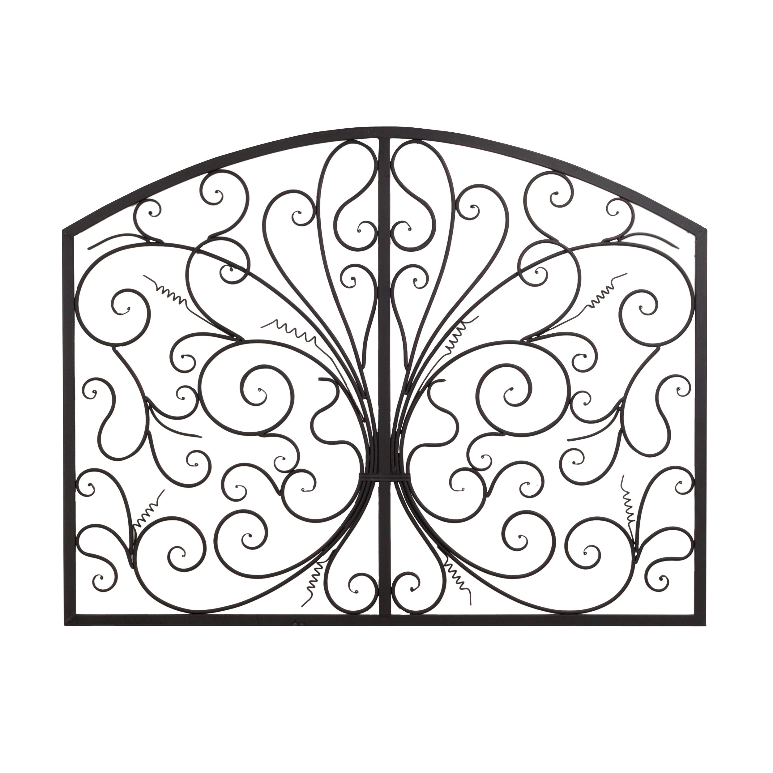 Bayaccents Metal Scroll Complex Panel Wall Decor & Reviews | Wayfair with regard to Metal Scroll Wall Art (Image 5 of 20)