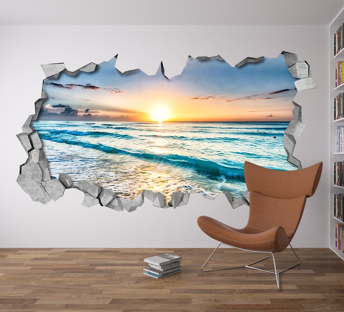 Popular Photo of 3D Wall Art