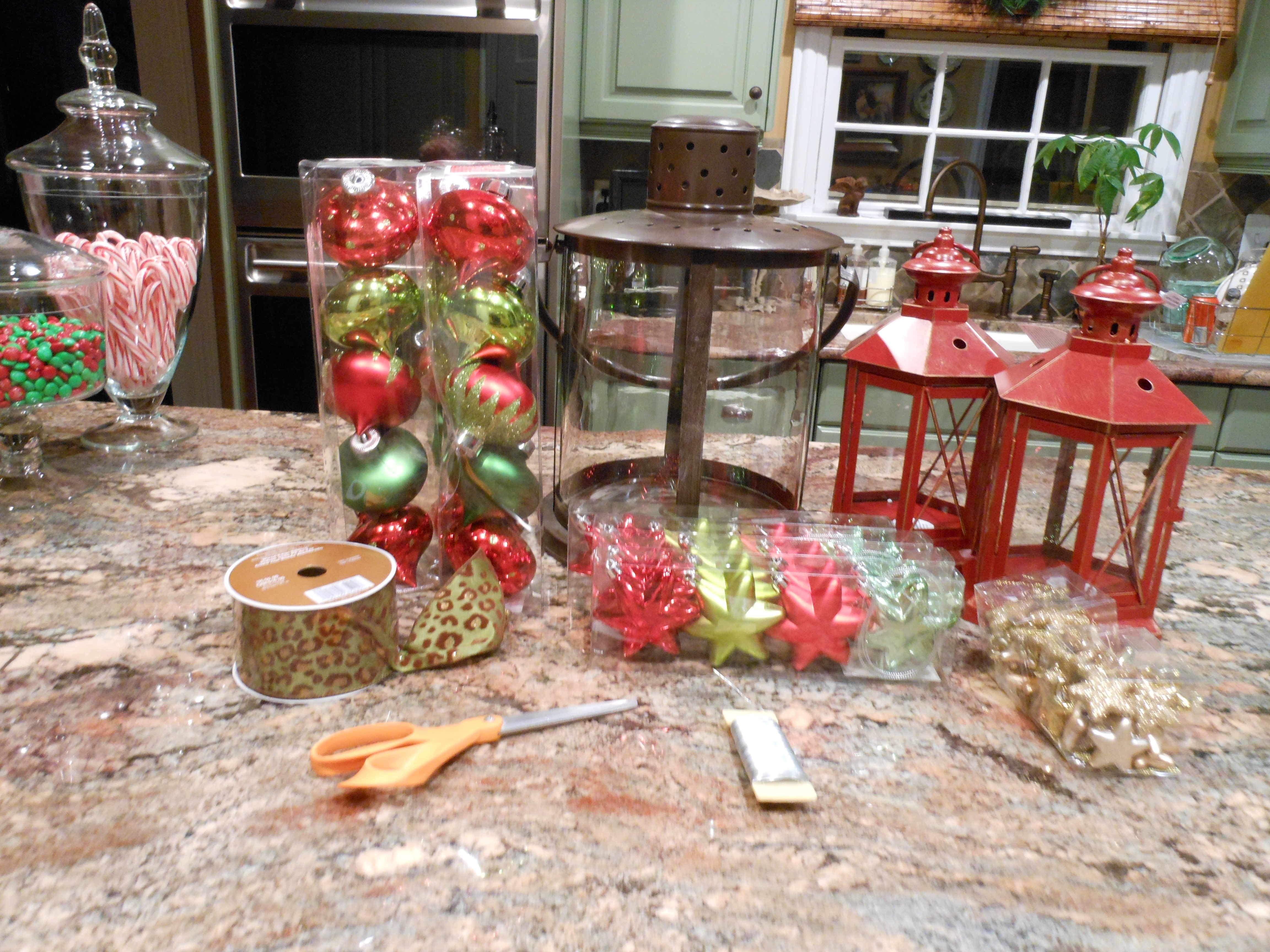 Beautiful Christmas Urns And Outdoor Decor…… | More Is More Mom regarding Outdoor Lanterns for Christmas (Image 4 of 20)