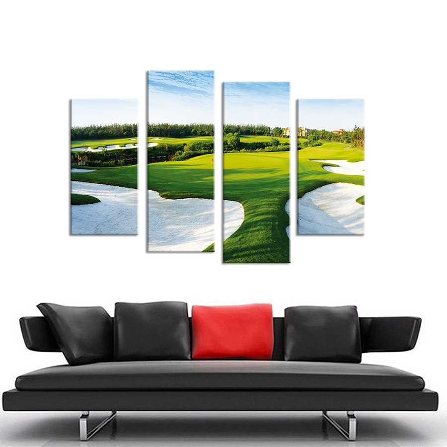 Featured Photo of Golf Canvas Wall Art