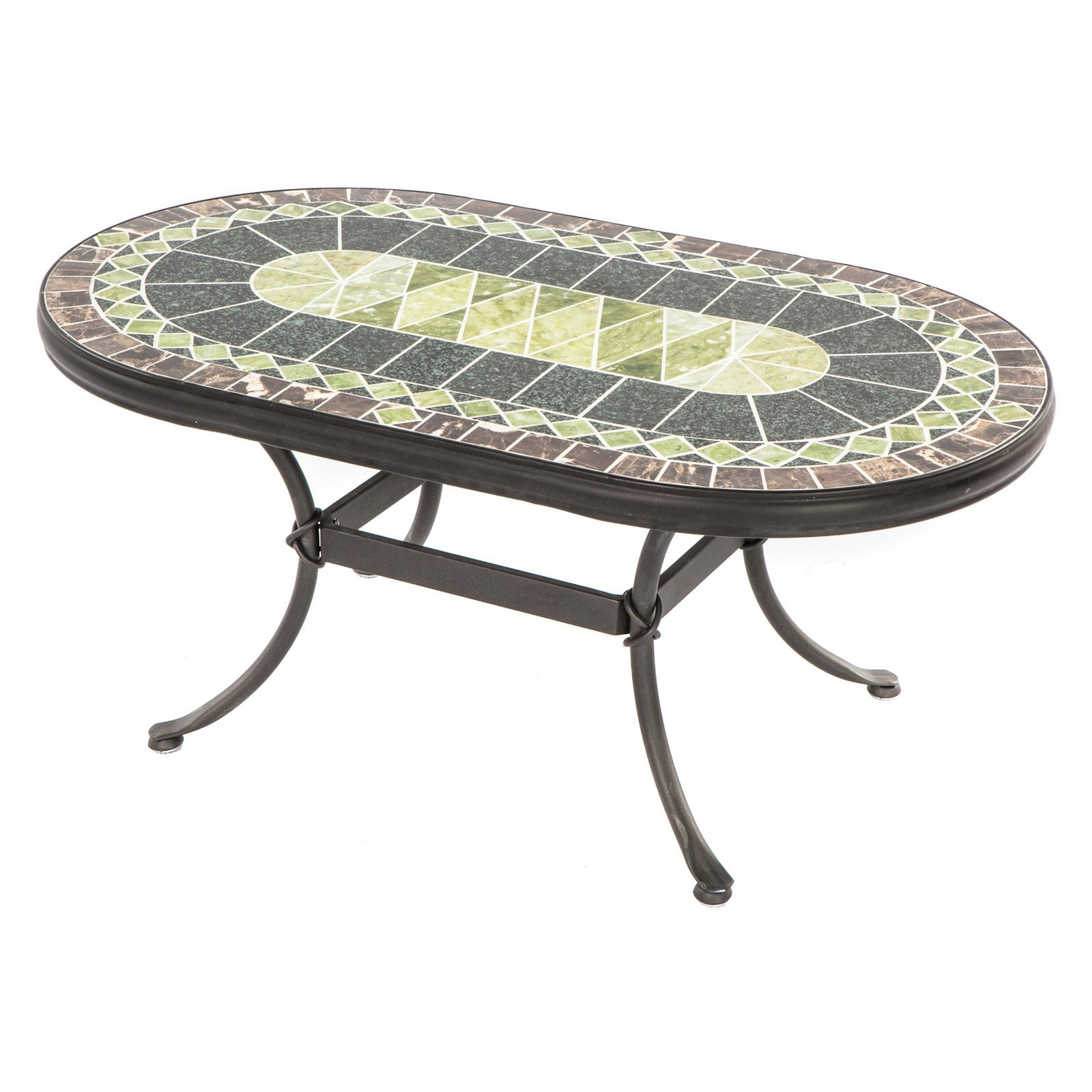 Beautiful Mosaic Accent Table With One Look At Pier 139S Elba Mosaic inside Elba Ottoman-Coffee Tables (Image 2 of 30)
