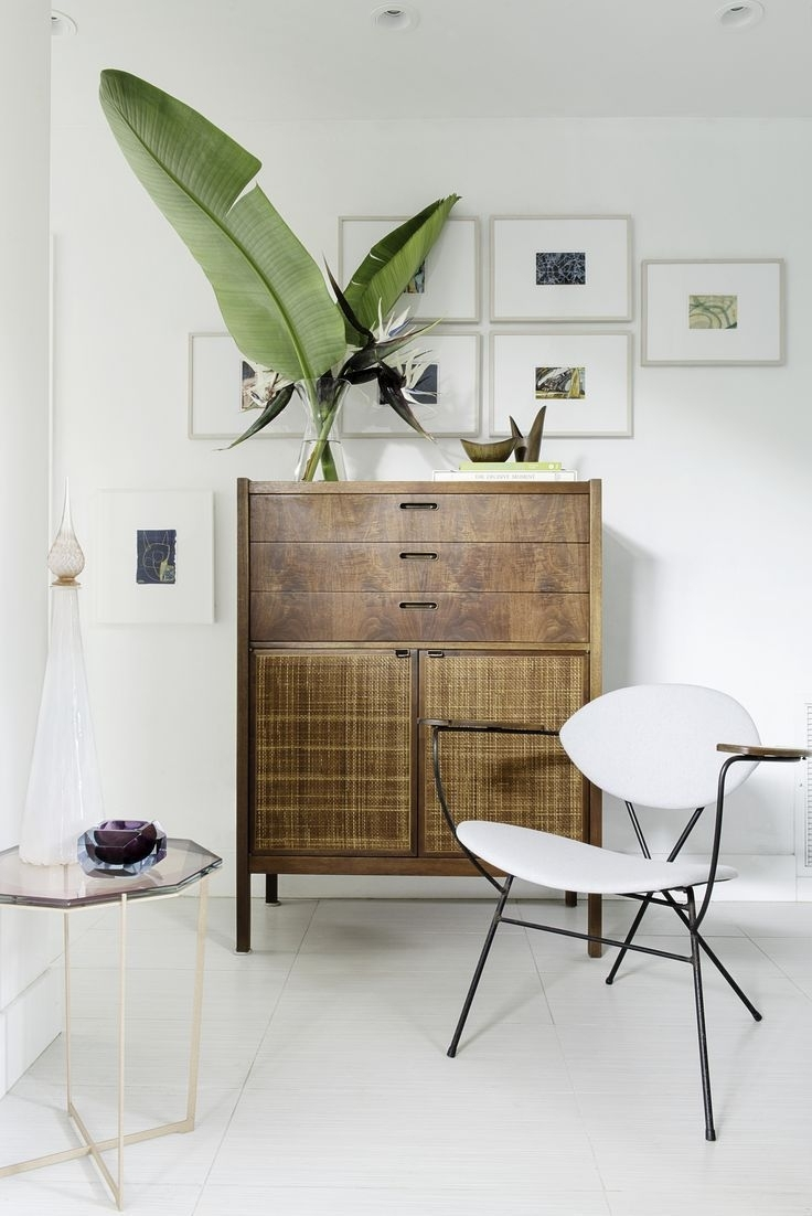 Beautiful Nook With Vintage Style Dresser, Unusual Gallery Wall Art within Unusual Wall Art (Image 1 of 20)
