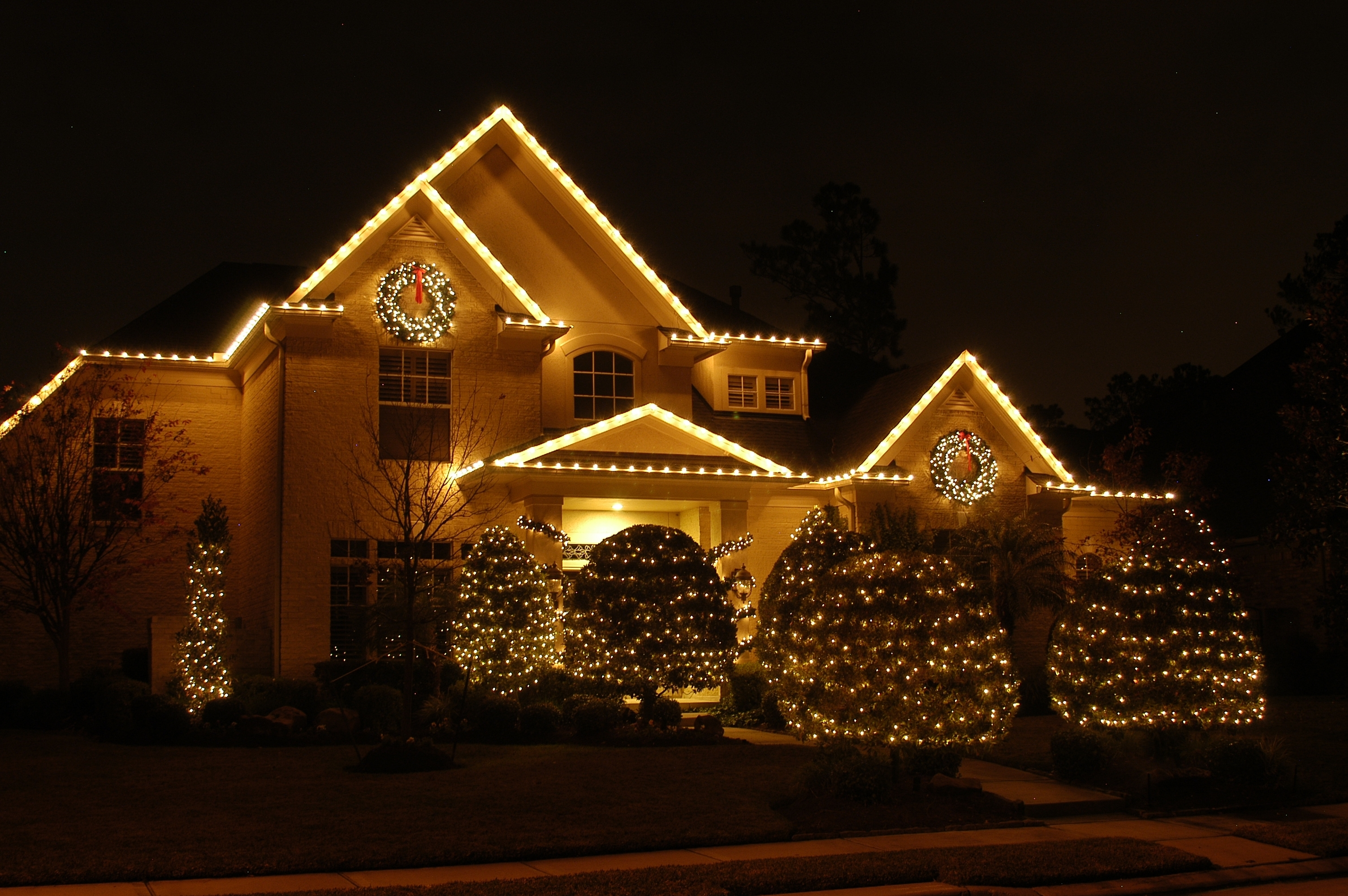 Beautiful Outdoor Lighting For Homes Exterior House Living Area for Outdoor Xmas Lanterns (Image 5 of 20)