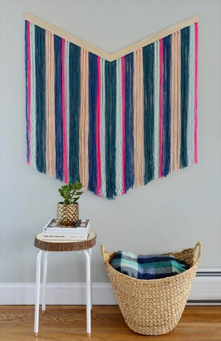 Best 54 Ideas About Diy Yarn Wall Art | Diy To Make Within Yarn Wall Art (View 11 of 20)