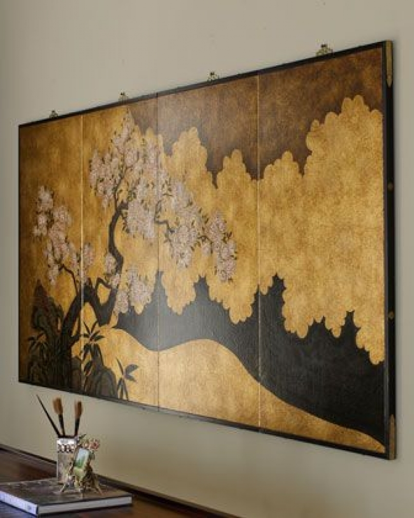 Best Asian Wall Asian Wall Decor Good Large Decorative Wall Clocks intended for Asian Wall Art (Image 9 of 20)