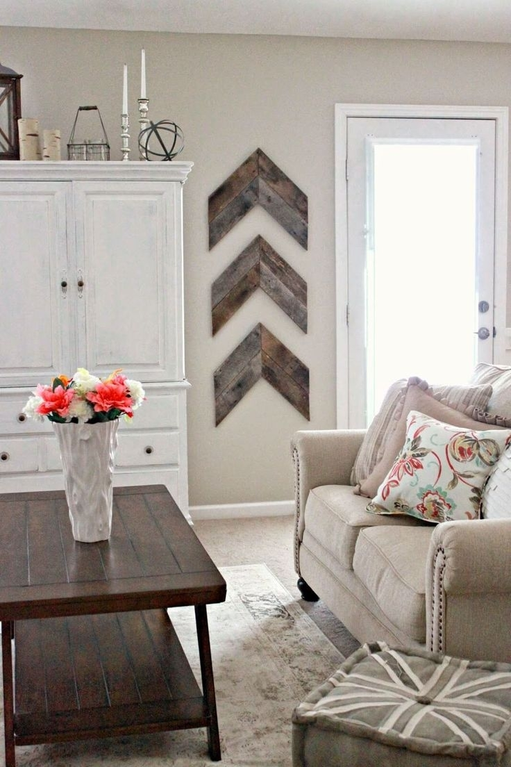 Best Chevron Wall Art Ideas On Canvas Crafts Alluringiving Room For Chevron Wall Art (View 3 of 20)