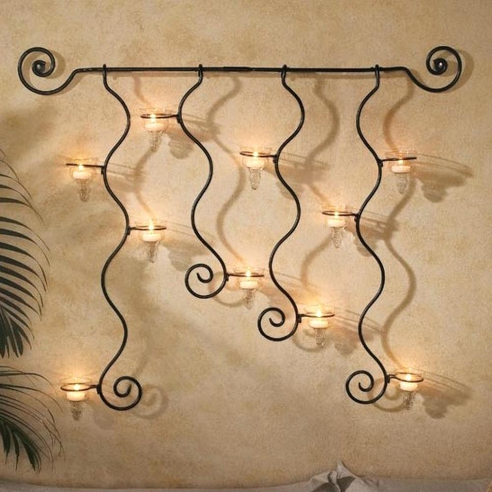 Best Iron Wall Decor Scroll Art Metal Whole Outdoor Cast Picture For with regard to Iron Wall Art (Image 5 of 20)