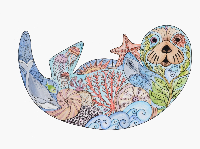 Best Of Marine Life Wall Art - Kunuzmetals pertaining to Sea Life Wall Art (Image 1 of 20)