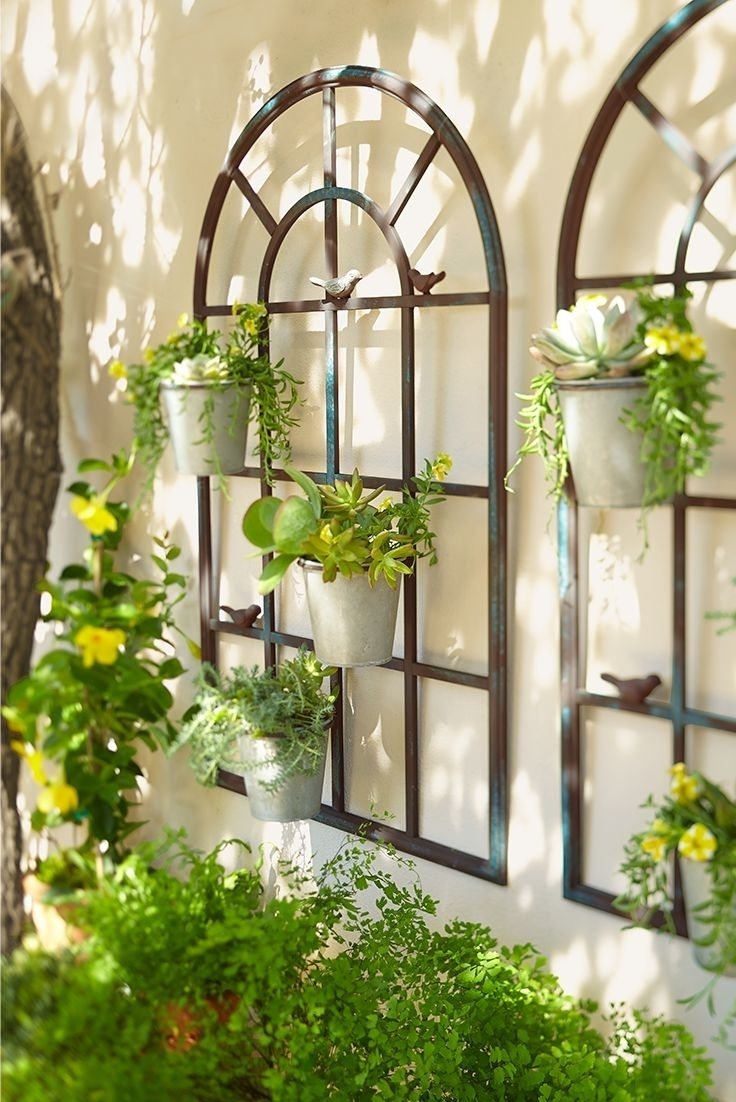 Best Outd Great Garden Wall Decor - Wall Decoration And Wall Art Ideas regarding Outdoor Wall Art (Image 2 of 20)