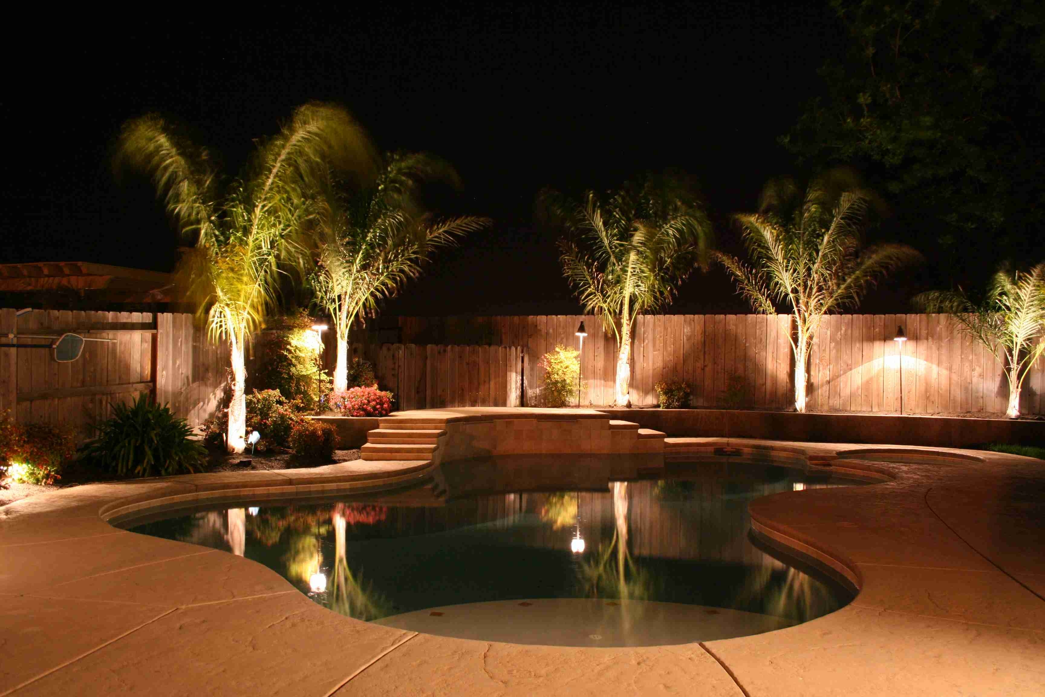 Best Outdoor Lighting For Patio Landscape Rockland Fixtures Area inside Outdoor Pool Lanterns (Image 12 of 20)