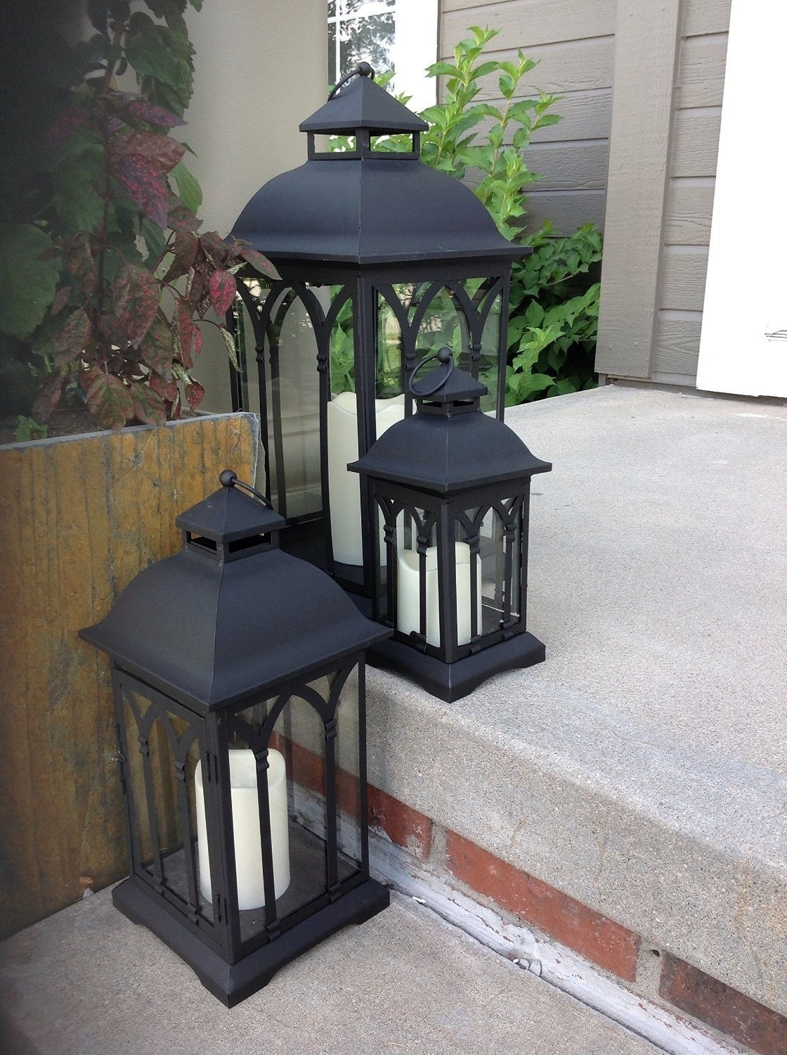 Best Rated In Outdoor Tabletop Lanterns & Helpful Customer Reviews regarding Outdoor Table Lanterns (Image 4 of 20)