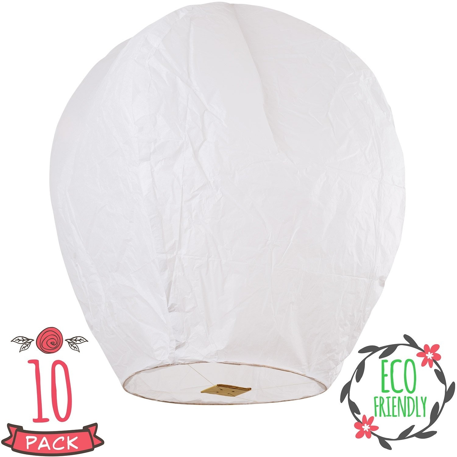 Best Rated In Sky Lanterns & Helpful Customer Reviews - Amazon regarding Outdoor Memorial Lanterns (Image 10 of 20)