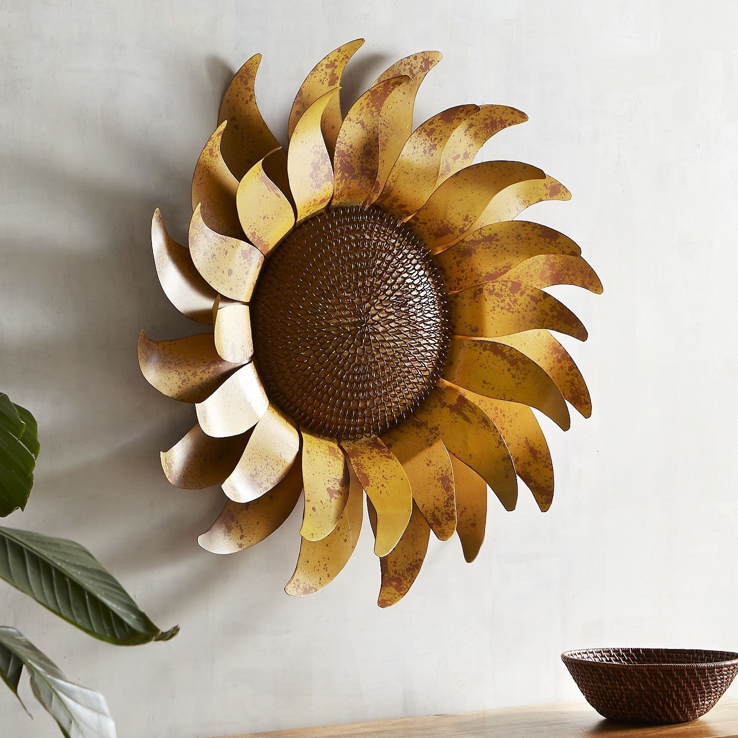 Best Sunflower Wall Decor Decorating Inspiration Giant Design Ideas inside Sunflower Wall Art (Image 5 of 20)