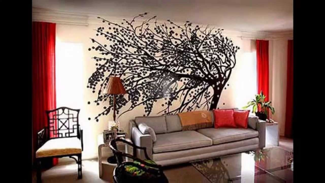 Big Wall Decorating Ideas - Youtube pertaining to Big Wall Art (Image 8 of 20)