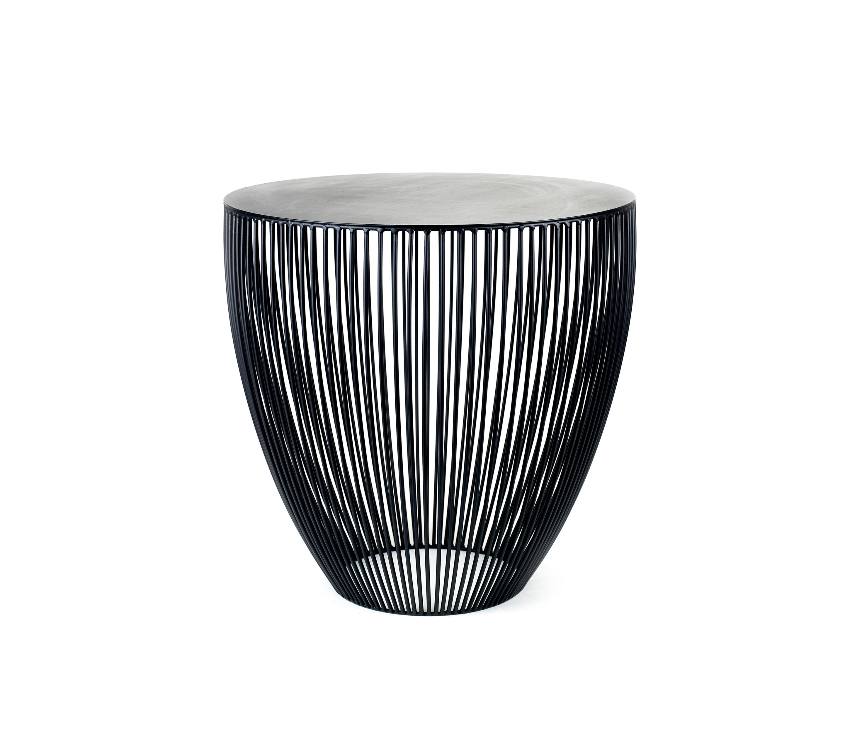 Bingo Table S Black - Side Tables From Serax | Architonic for Black Wire Coffee Tables (Image 3 of 30)