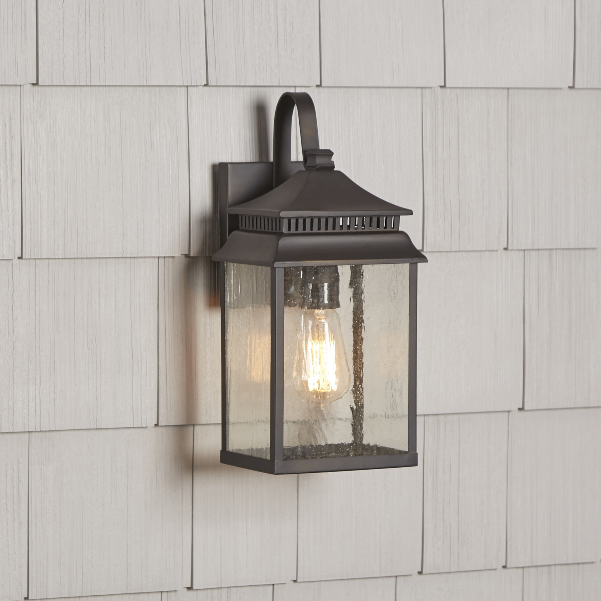 Birch Lane™ Briarfield 1-Light Outdoor Wall Lantern & Reviews with Outdoor Wall Lanterns (Image 1 of 20)