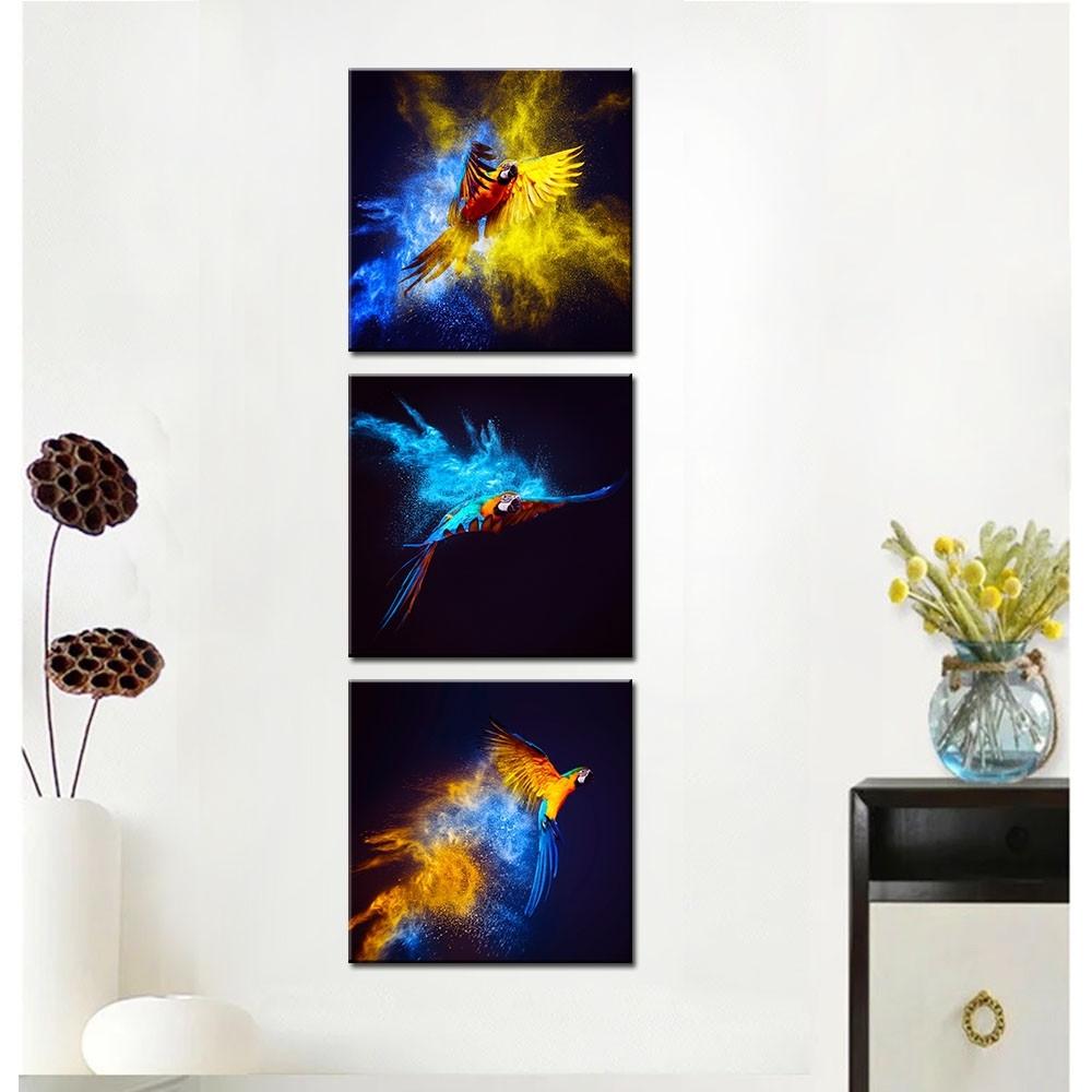 Bird Canvas Wall Art Best Of Mini & Small Canvas Framed Art pertaining to Bird Framed Canvas Wall Art (Image 8 of 20)