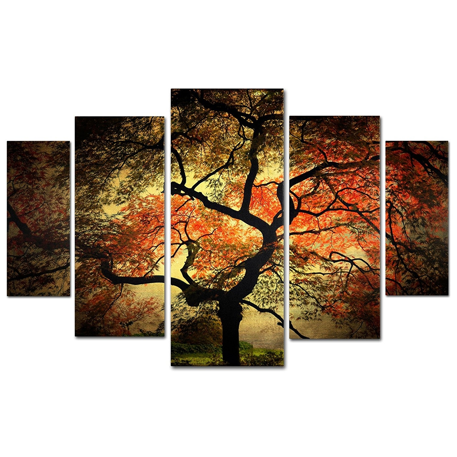 Bjinj New Multi Panel Wall Art - Wall Decoration And Wall Art Ideas throughout Multi Panel Wall Art (Image 6 of 20)
