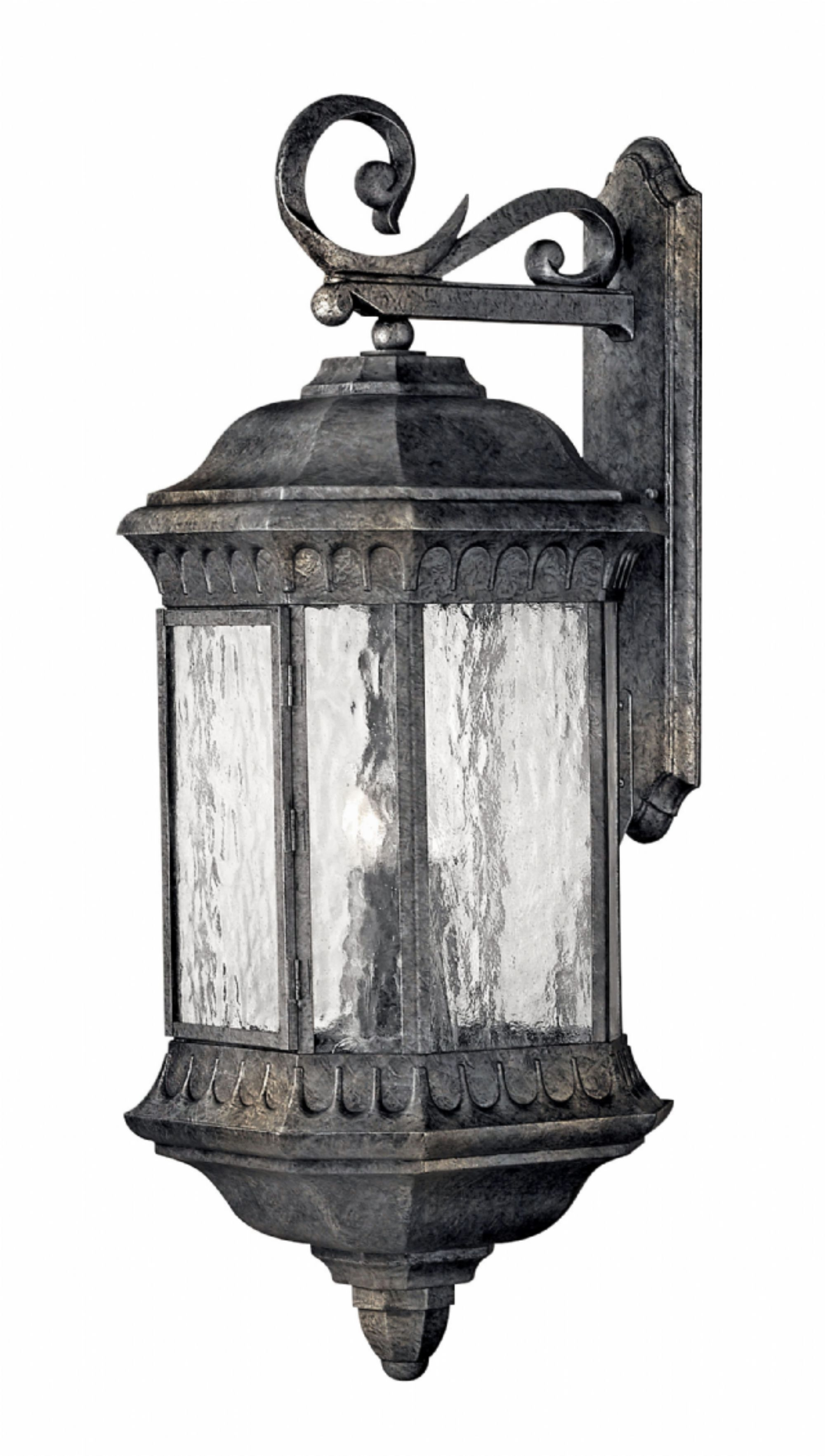 Black Granite Regal > Exterior Wall Mount throughout Wall Mounted Outdoor Lanterns (Image 2 of 20)