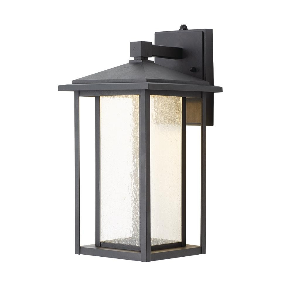 Black Home Decorators Collection Outdoor Lanterns Sconces Kb 06005 in Outdoor Lanterns and Sconces (Image 5 of 20)