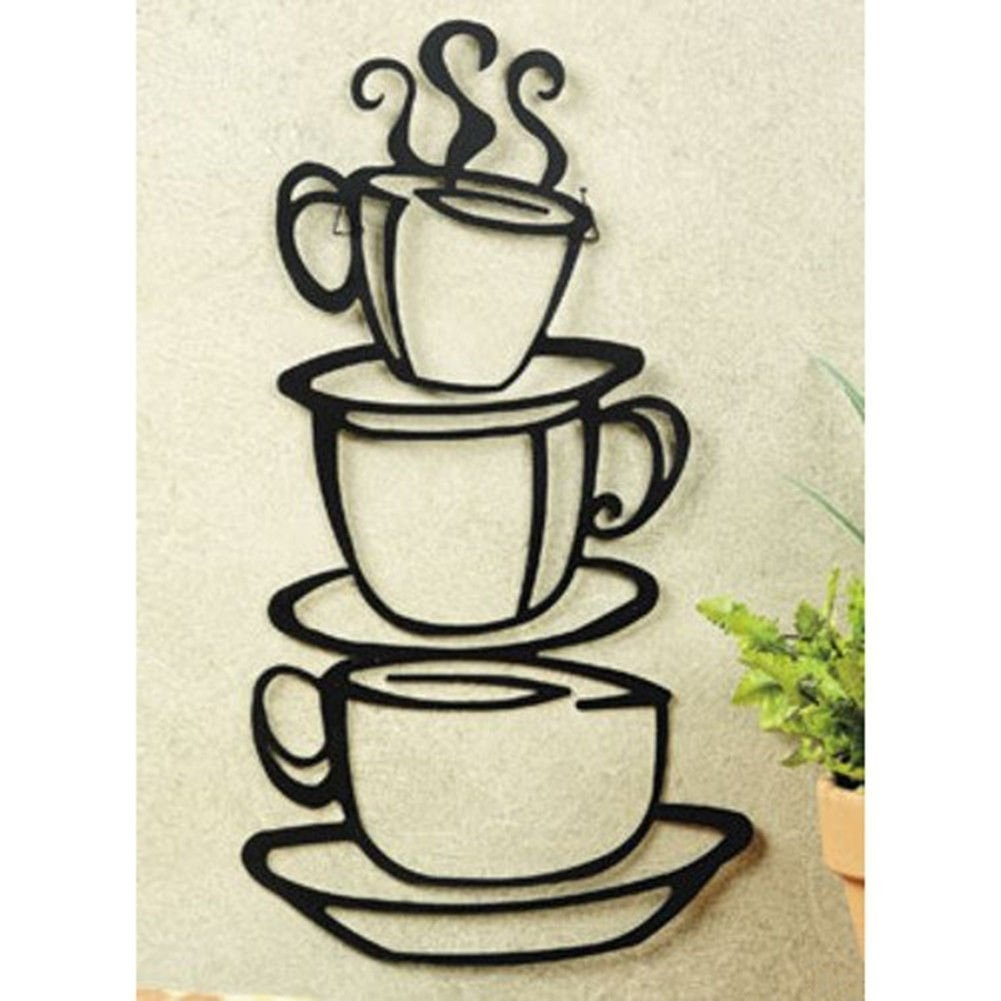 Black Kitchen Metal Wall Art : Andrews Living Arts – Popular Kitchen Throughout Kitchen Metal Wall Art (View 5 of 20)