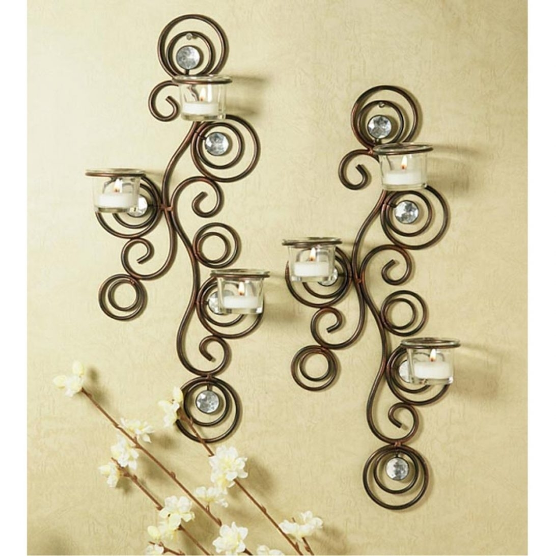 Black Metal Wall Art Outdoor Hobby Lobby Wrought Iron Decor India regarding Hobby Lobby Metal Wall Art (Image 3 of 20)