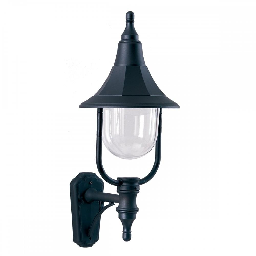 Black Outdoor Wall Lantern Designed To Withstand Salty Seaside Locations with Rust Proof Outdoor Lanterns (Image 4 of 20)