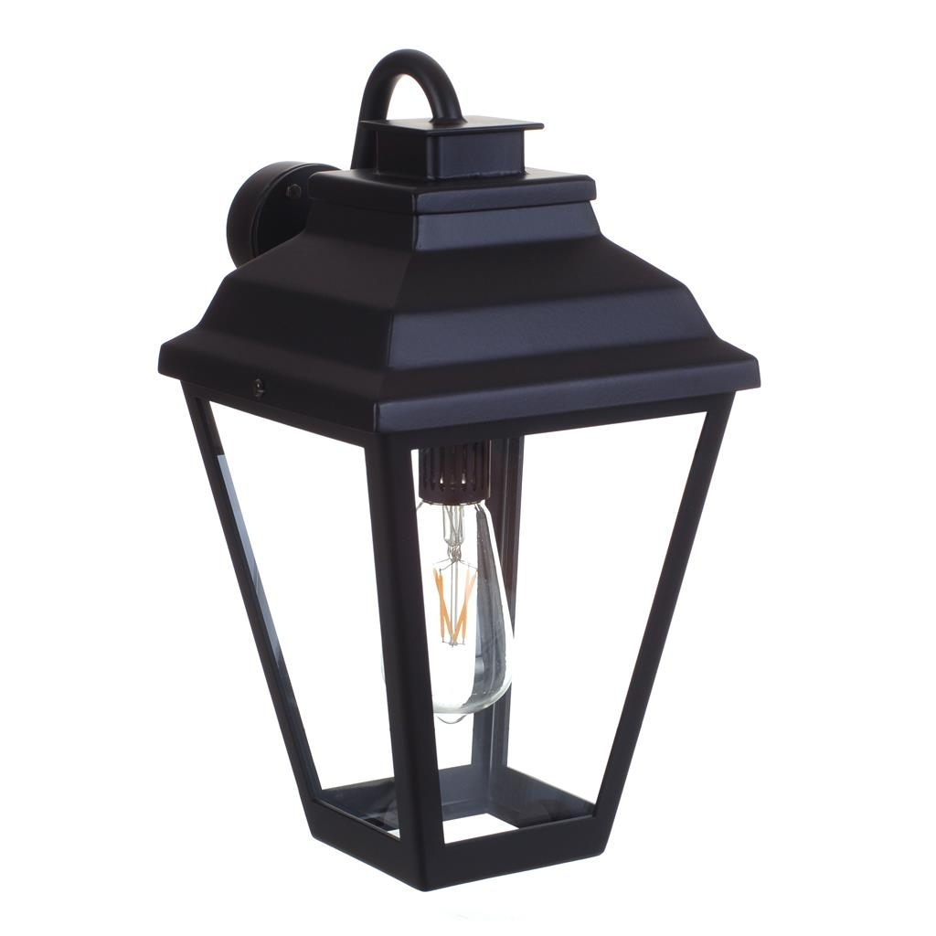 Black Wall Lantern | Outdoor Light | Traditional Lighting | Jim Lawrence within Italian Outdoor Lanterns (Image 1 of 20)