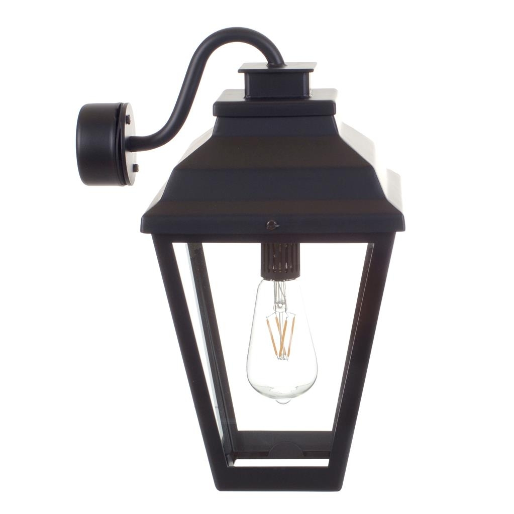 Black Wall Lantern | Outdoor Light | Traditional Lighting | Jim Lawrence Within Outdoor Mounted Lanterns (Photo 19 of 20)