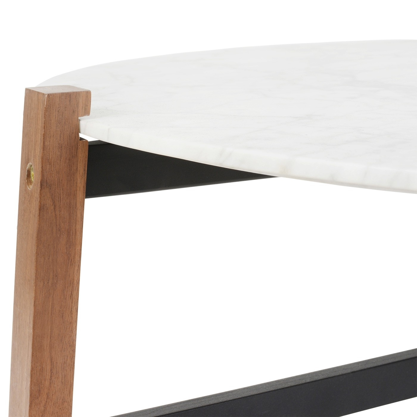 Blu Dot Free-Range Coffee Table In Marble | Heal's pertaining to Suspend Ii Marble and Wood Coffee Tables (Image 2 of 30)