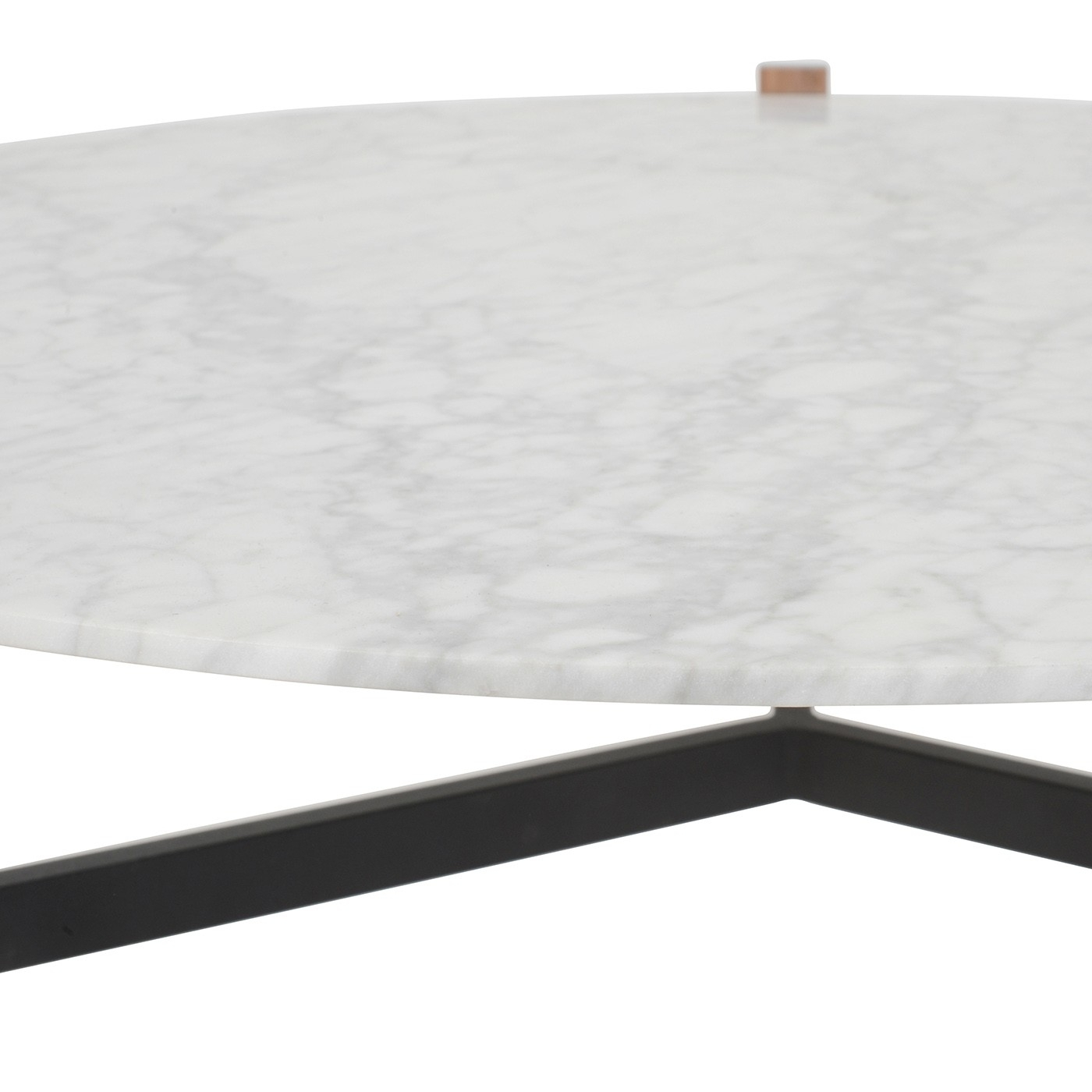 Blu Dot Free-Range Coffee Table In Marble | Heal's pertaining to Suspend Ii Marble And Wood Coffee Tables (Image 1 of 30)