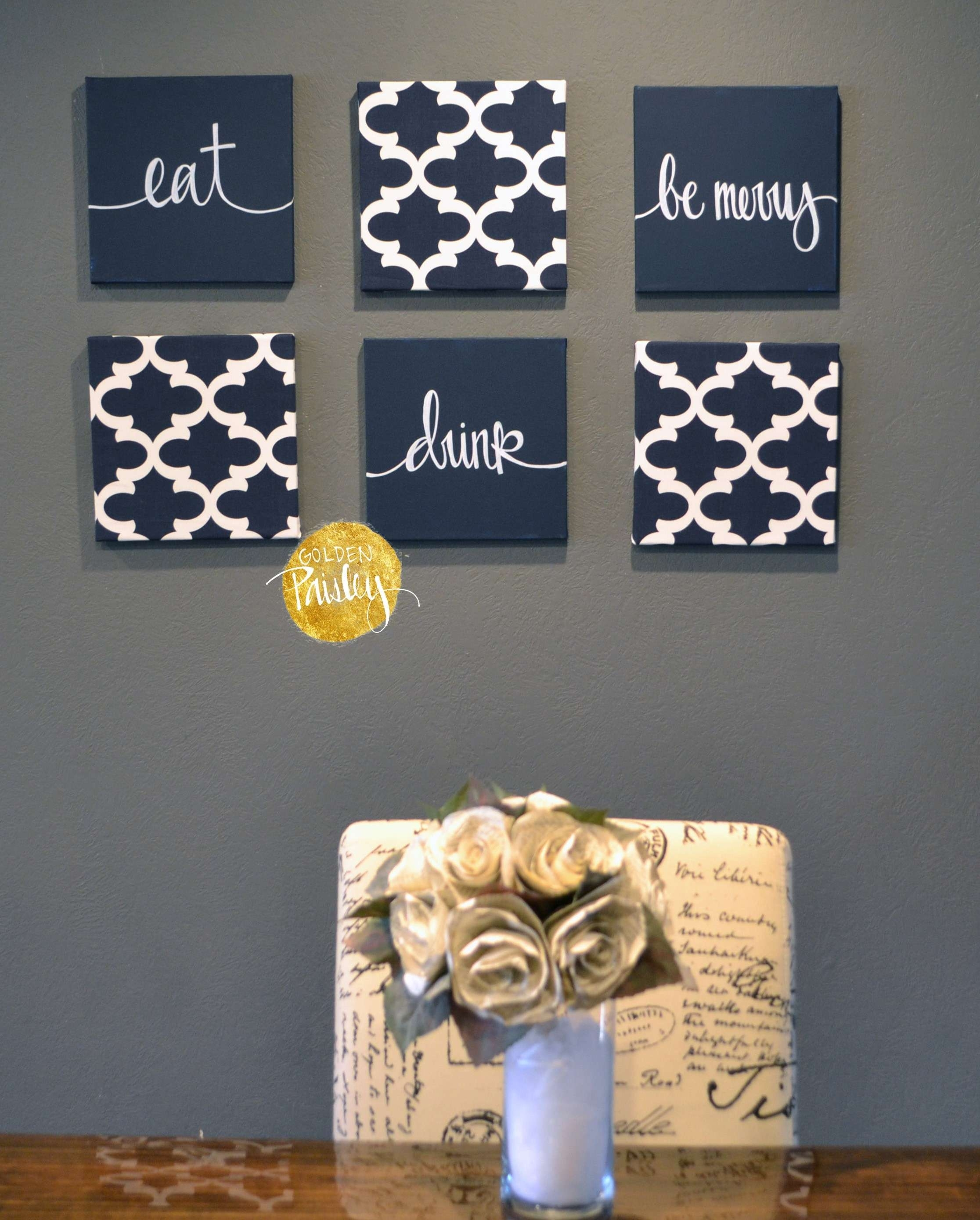 Blue Wall Decor Luxury Wall Art Designs Navy Blue Wall Art Quotes intended for Navy Blue Wall Art (Image 5 of 20)