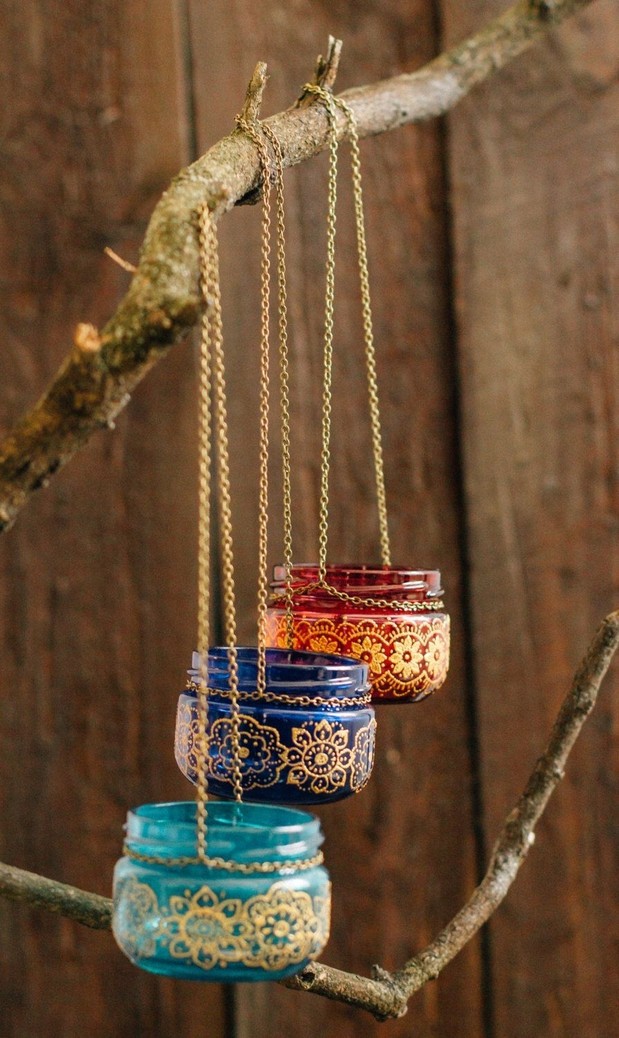 Bohemian Wedding Decor, Moroccan Outdoor Lantern, Hanging Jar Candle With Regard To Colorful Outdoor Lanterns (View 3 of 20)