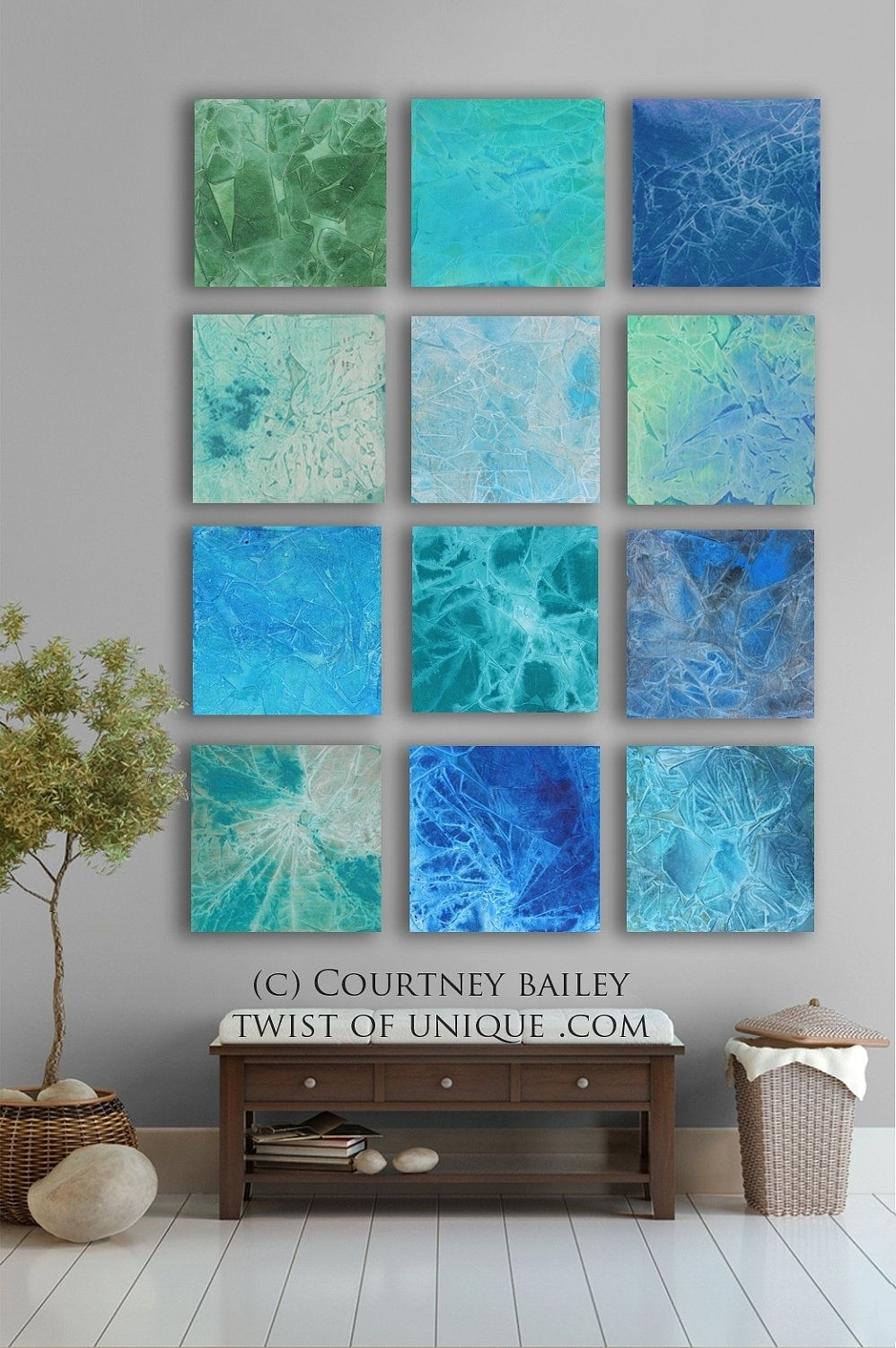 Bold Custom Abstract Painting, 12 Square Modern Abstract Wall Art Regarding Large Abstract Wall Art (View 12 of 20)