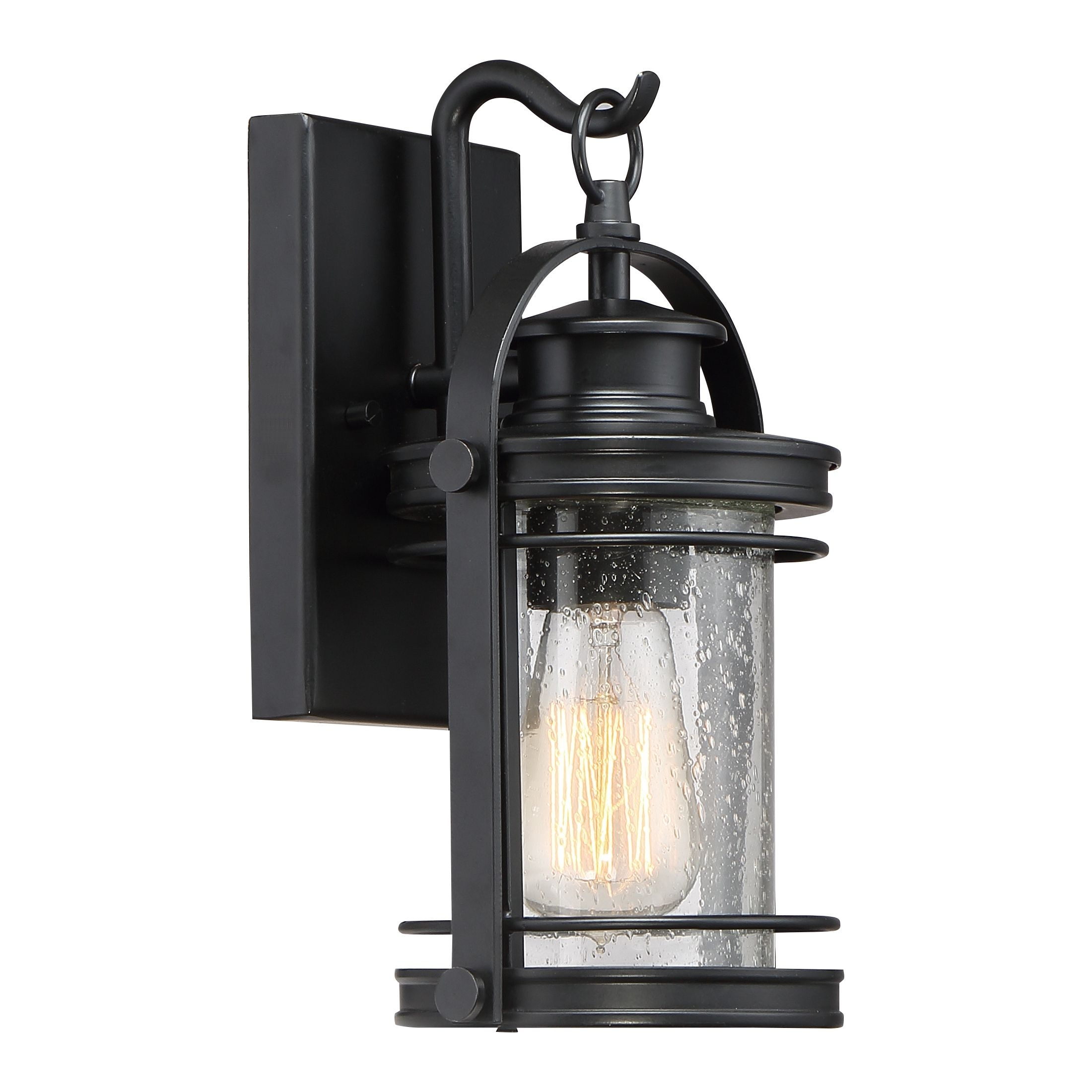 Booker Outdoor Lantern | Quoizel within Outdoor Lanterns Without Glass (Image 4 of 20)