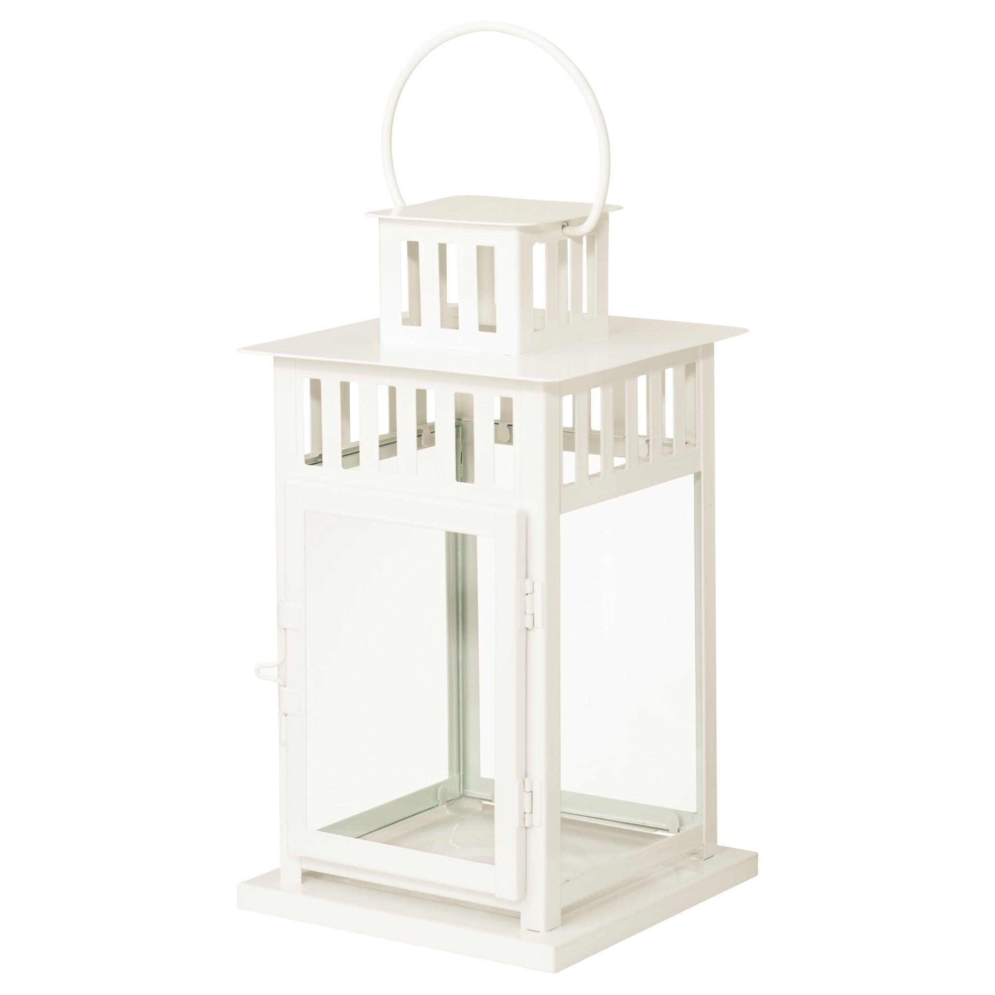 Borrby Lantern For Block Candle - Ikea inside Ikea Outdoor Lanterns (Image 1 of 20)