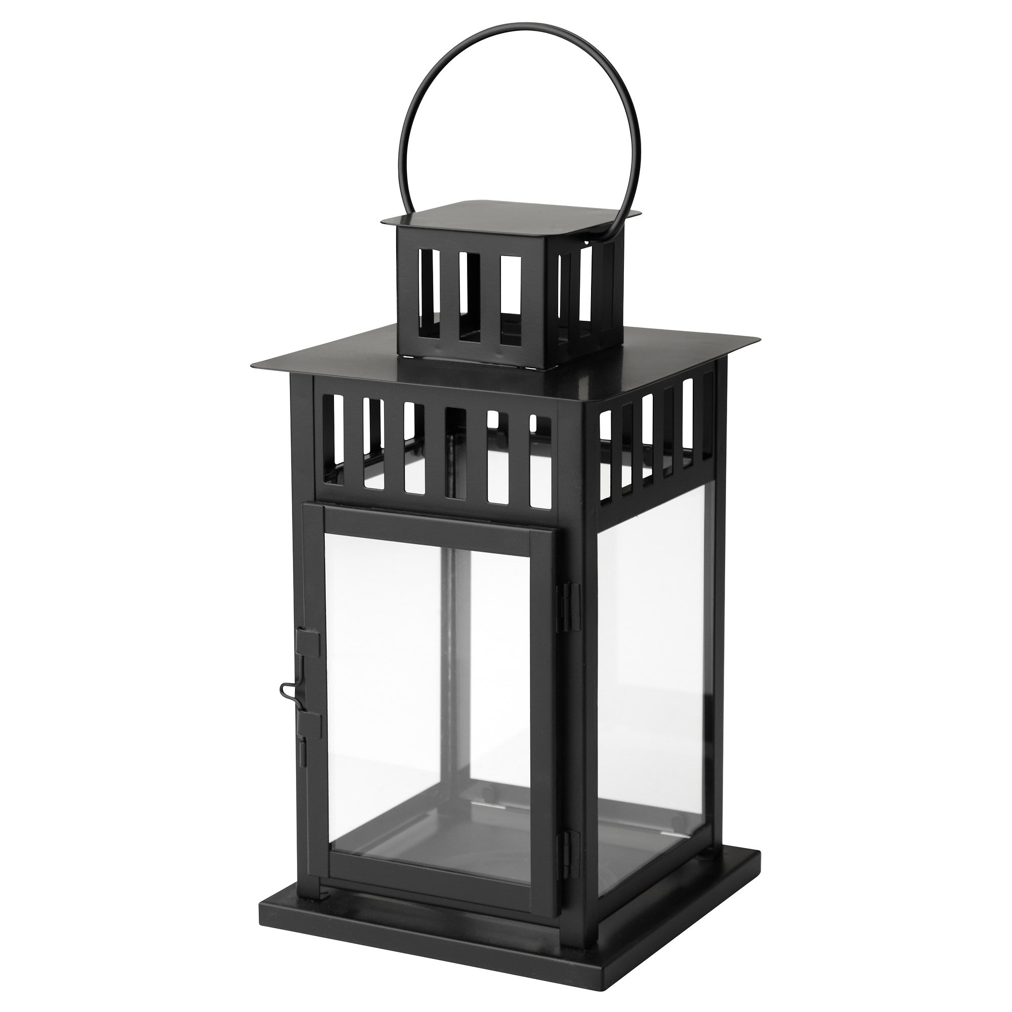 Borrby Lantern For Block Candle - Ikea with Vaughan Outdoor Lanterns (Image 1 of 20)