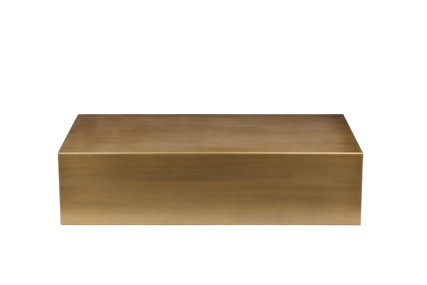 Brass Cube Coffee Table | Modern Furniture • Brickell Collection with regard to Brass Iron Cube Tables (Image 4 of 30)