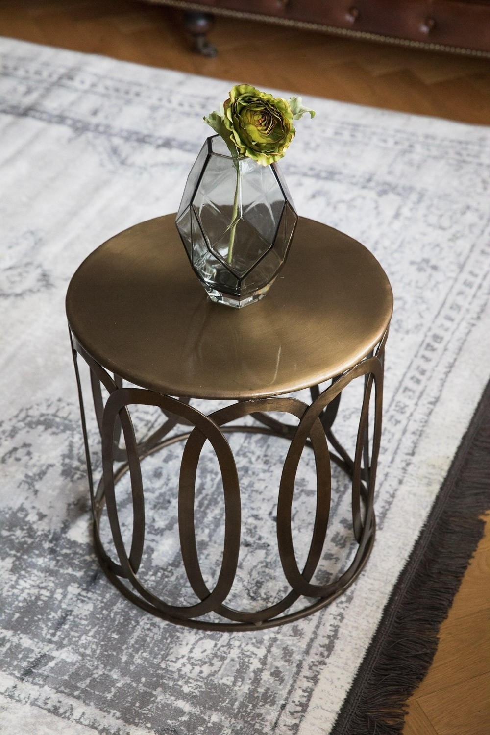 Brass Drum Coffee Table Antique Brass Drum Coffee Table with Darbuka Brass Coffee Tables (Image 10 of 30)