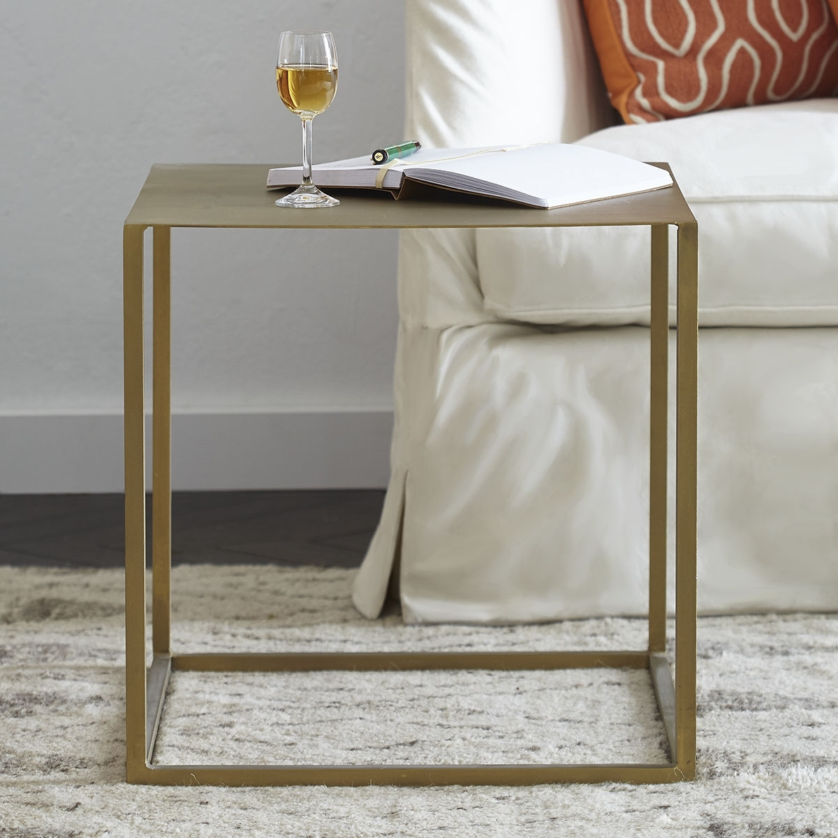 Featured Photo of Brass Iron Cube Tables