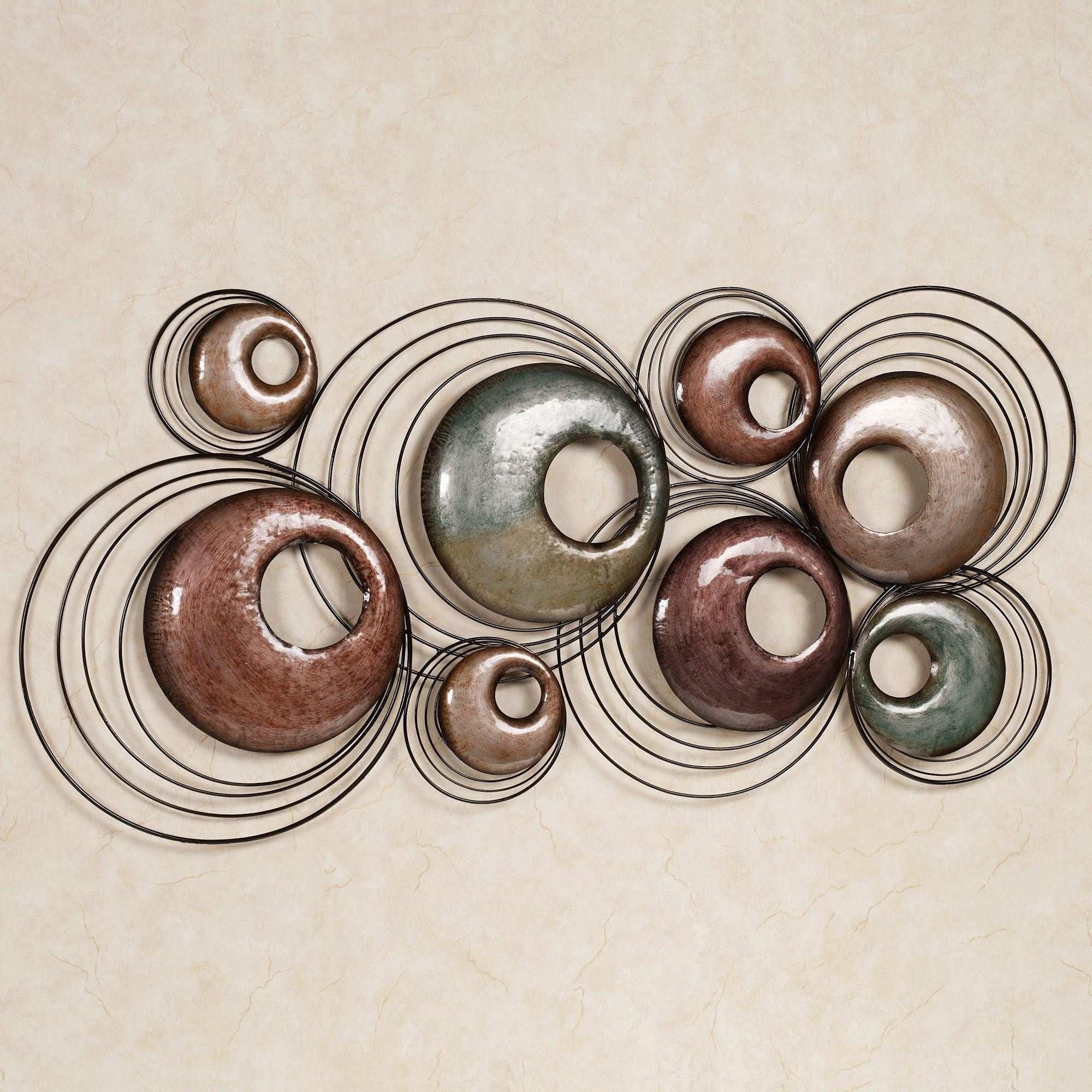 Brass Wall Art Elegant Echo Metal Wall Sculpture Art | Painting Ideas for Metal Wall Art Sculptures (Image 1 of 20)